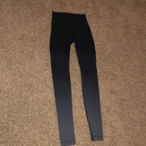 women's black and grey ombré lulu lemon leggings